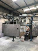 Powder Coating Plant with Overhead Rail System with 2 x E-Jet 2 Powder Coating Spray Units 7m x 4m A