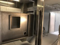 Drying Oven with Overhead Rail System, 8m x 4m Approx
