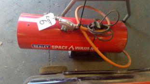 Sealey LP150V2 Space Warmer