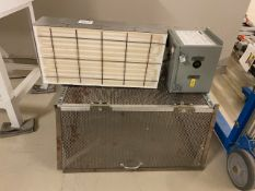Radiant Process Heater with Safety Cage