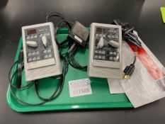 Two GraLab 451 timer controllers
