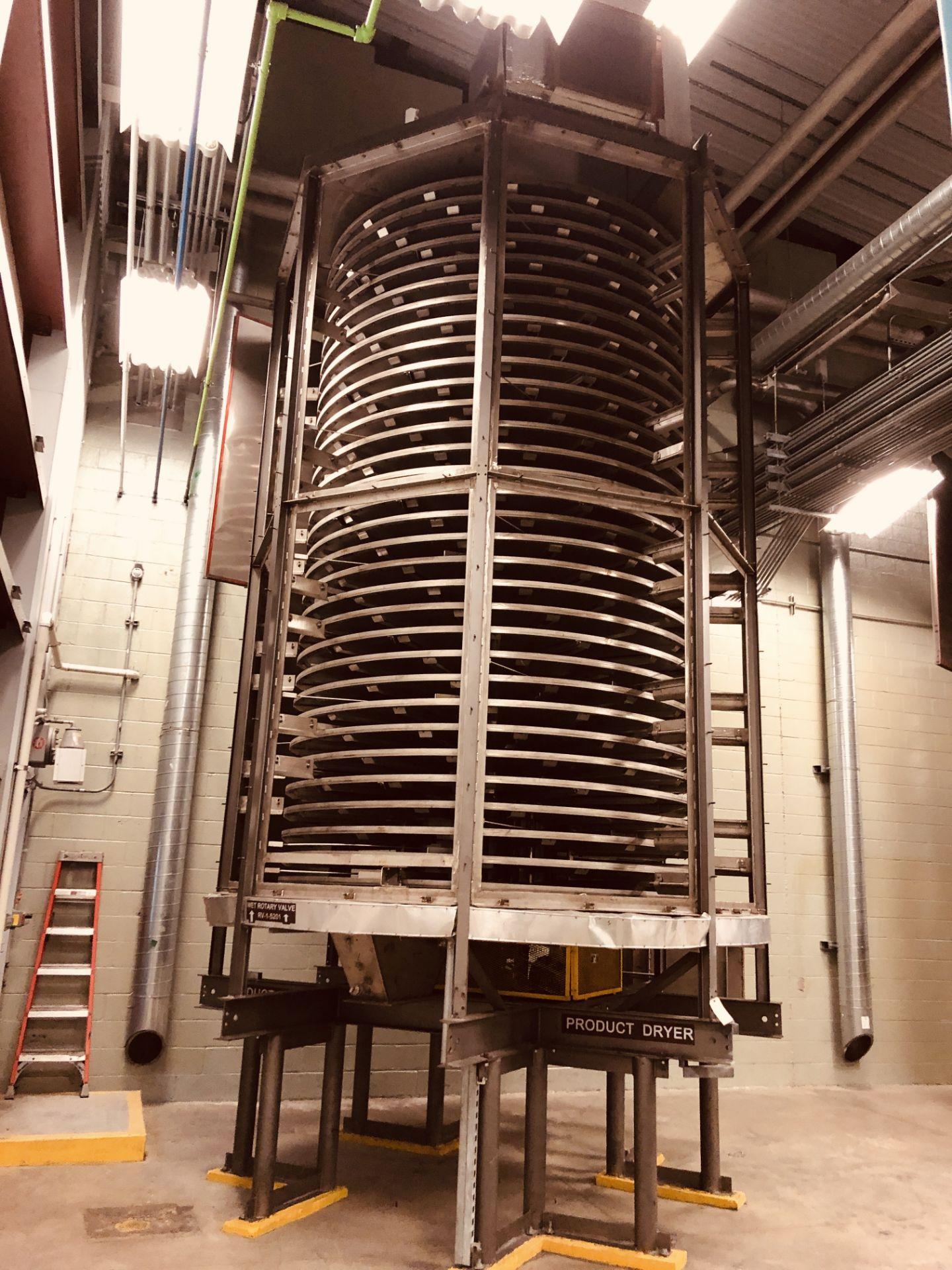 Wyssmont Model OE-32 Turbo Dryer - Includes Blower & Rotary Air Locks - Image 5 of 6