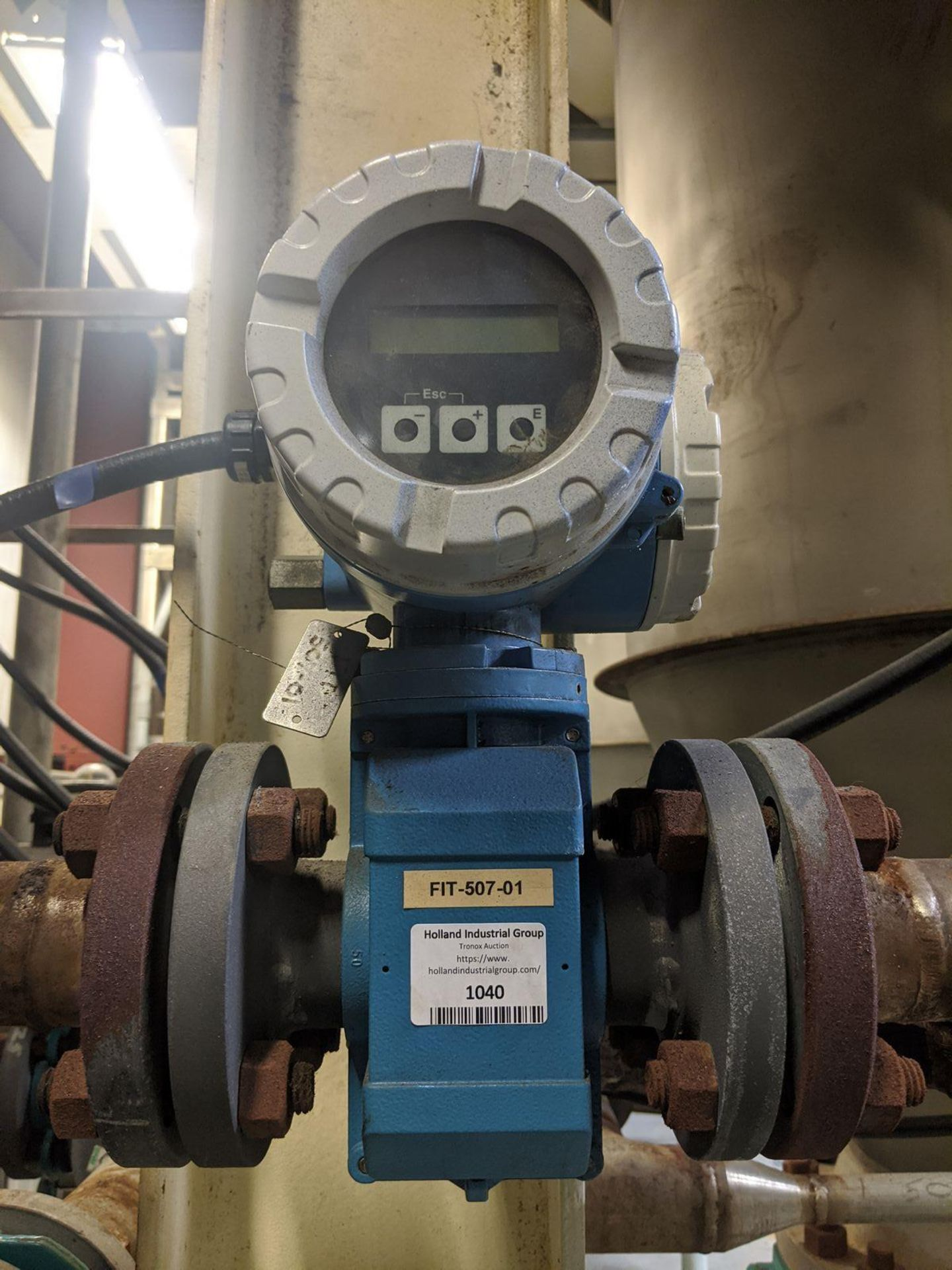 Endress+Hauser Model Promag 50 Electromagnetic Flowmeter