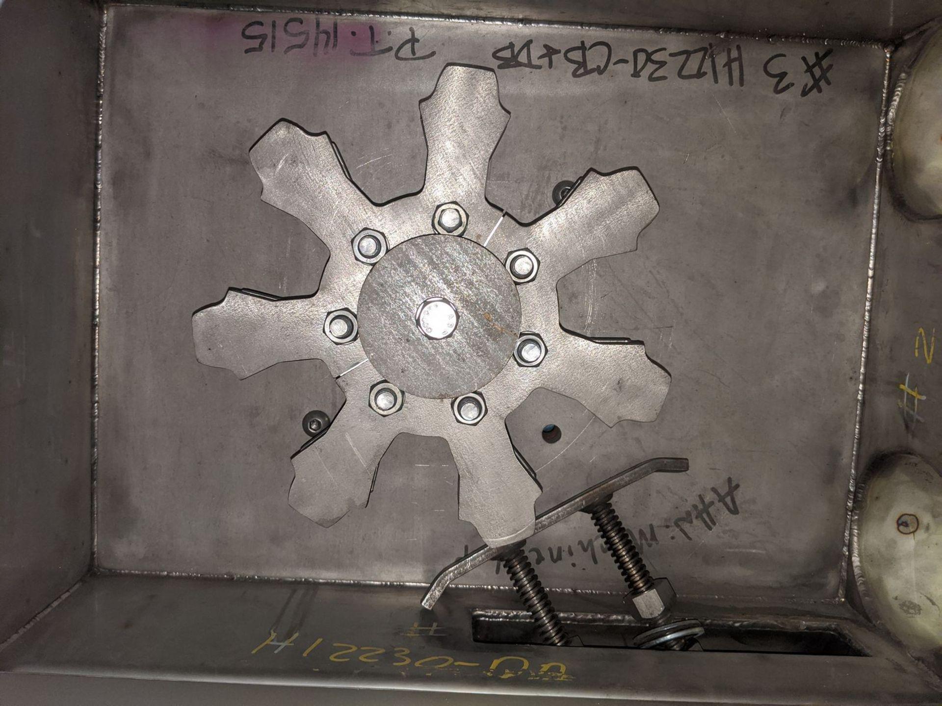 "Hapman Model H12230-C0 4"" Tube (Drag) Conveyor Hopper Gear Section - Image 3 of 6"