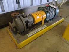 Flowserve Model MK3STD 10 HP Centrifugal Pump