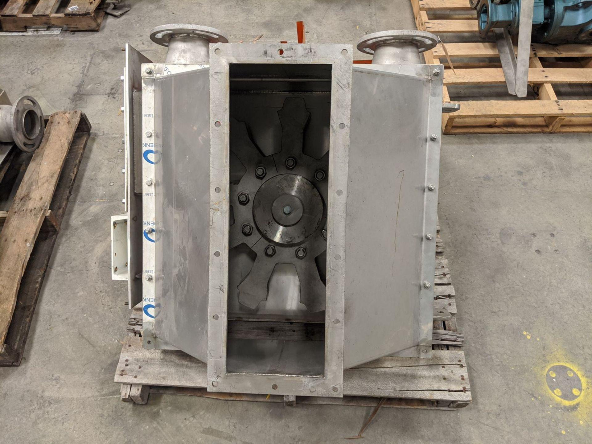 "Hapman 4"" Tube (Drag) Conveyor Hopper Gear Section - Image 2 of 3"