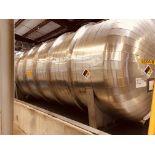 Addison Fab. 27000 Gallon Horizontal 304 S/S Receiver Tank