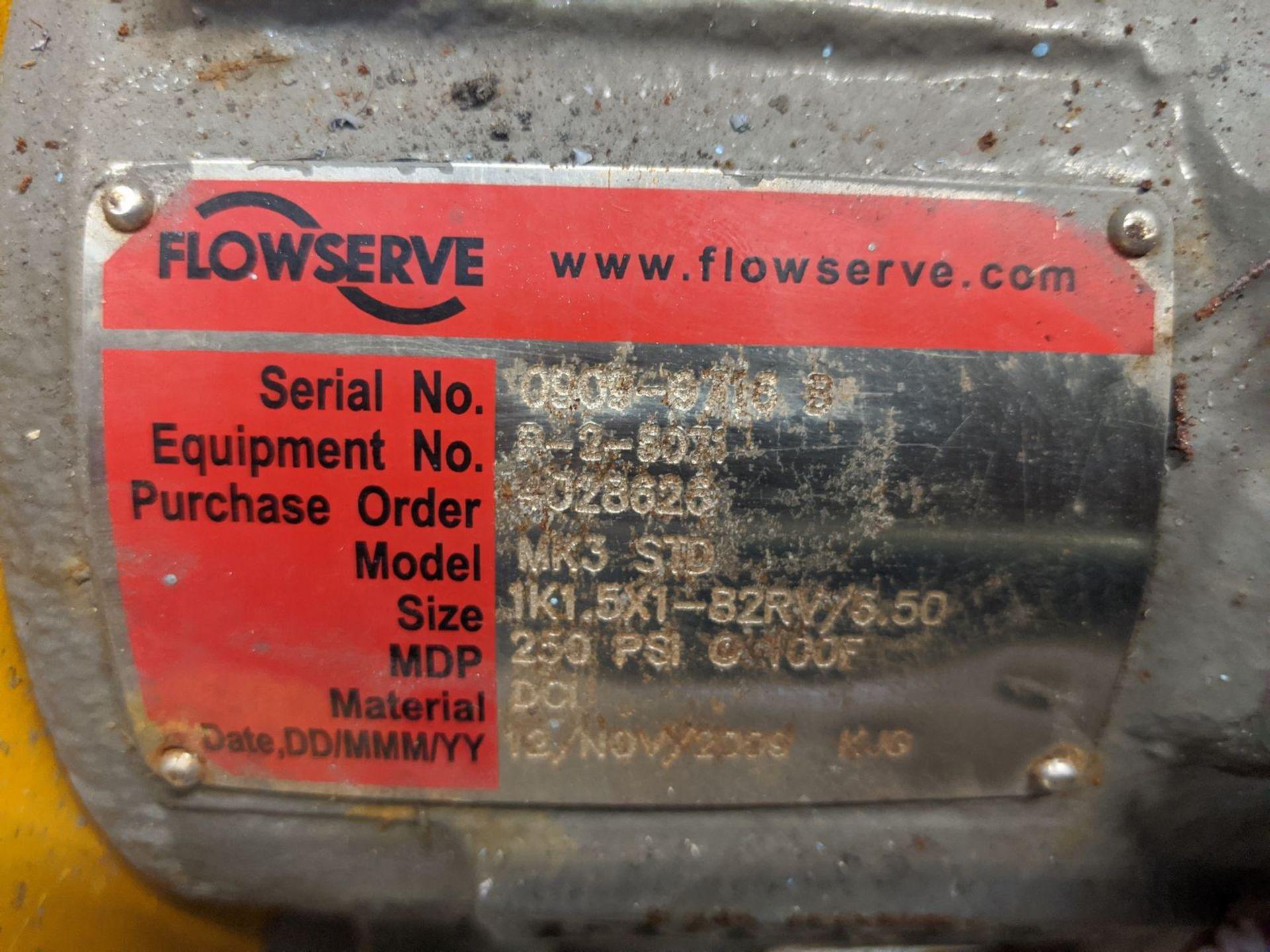 Flowserve Model MK3STD 10 HP Centrifugal Pump - Image 2 of 3