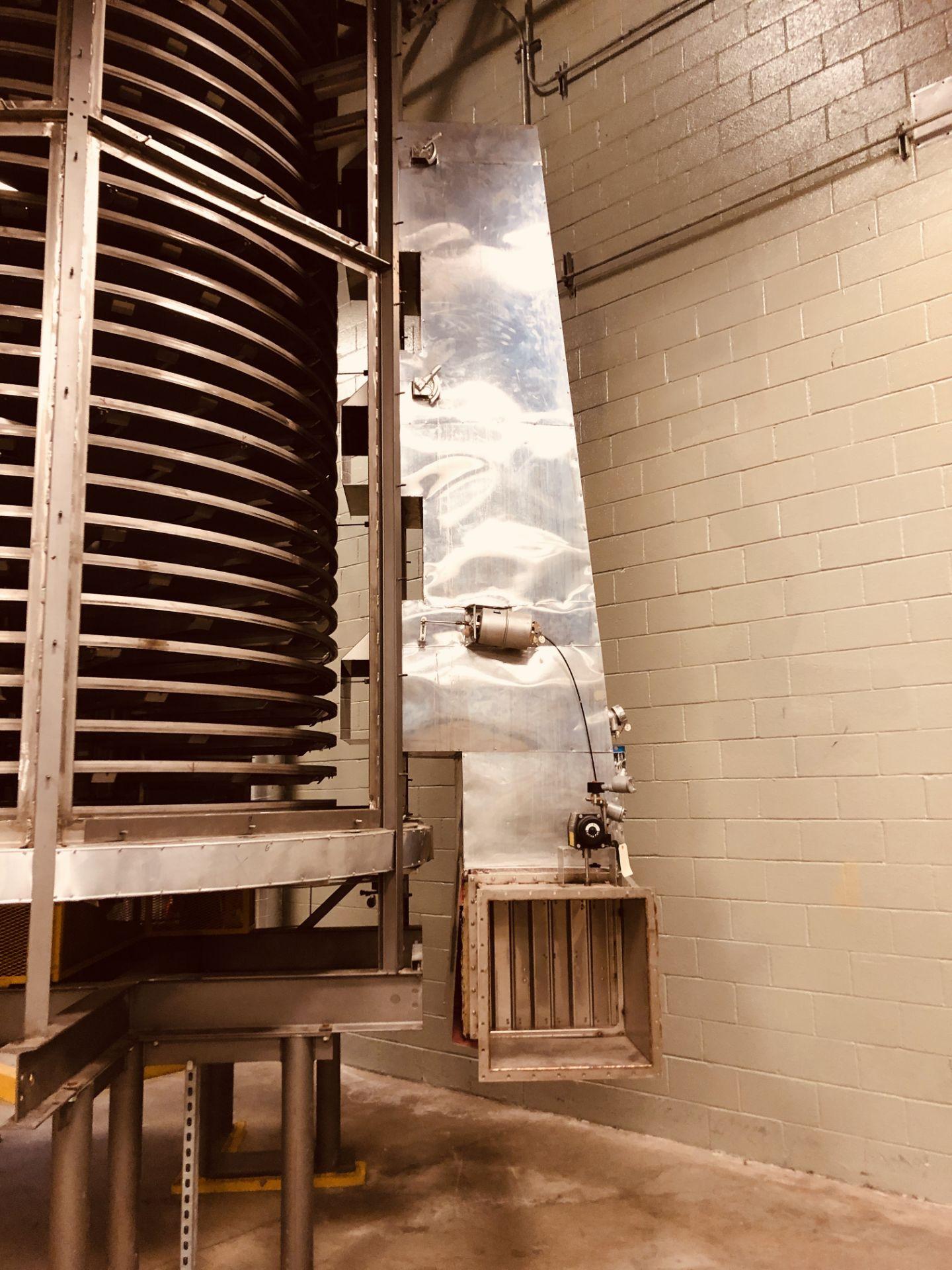Wyssmont Model OE-32 Turbo Dryer - Includes Blower & Rotary Air Locks - Image 4 of 6