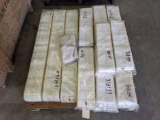 Pallet of Dr. M 2.13m Filter Clothes