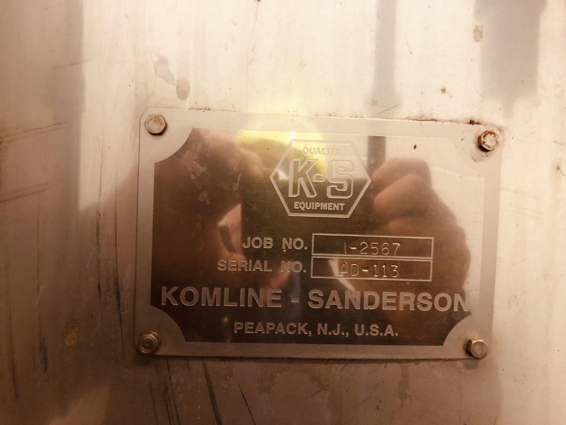 Komline Sanderson Model CIX HVF 1.25x9.75m 11.25 Sq Meter Horizontal Belt Vacuum Filter - Image 17 of 17