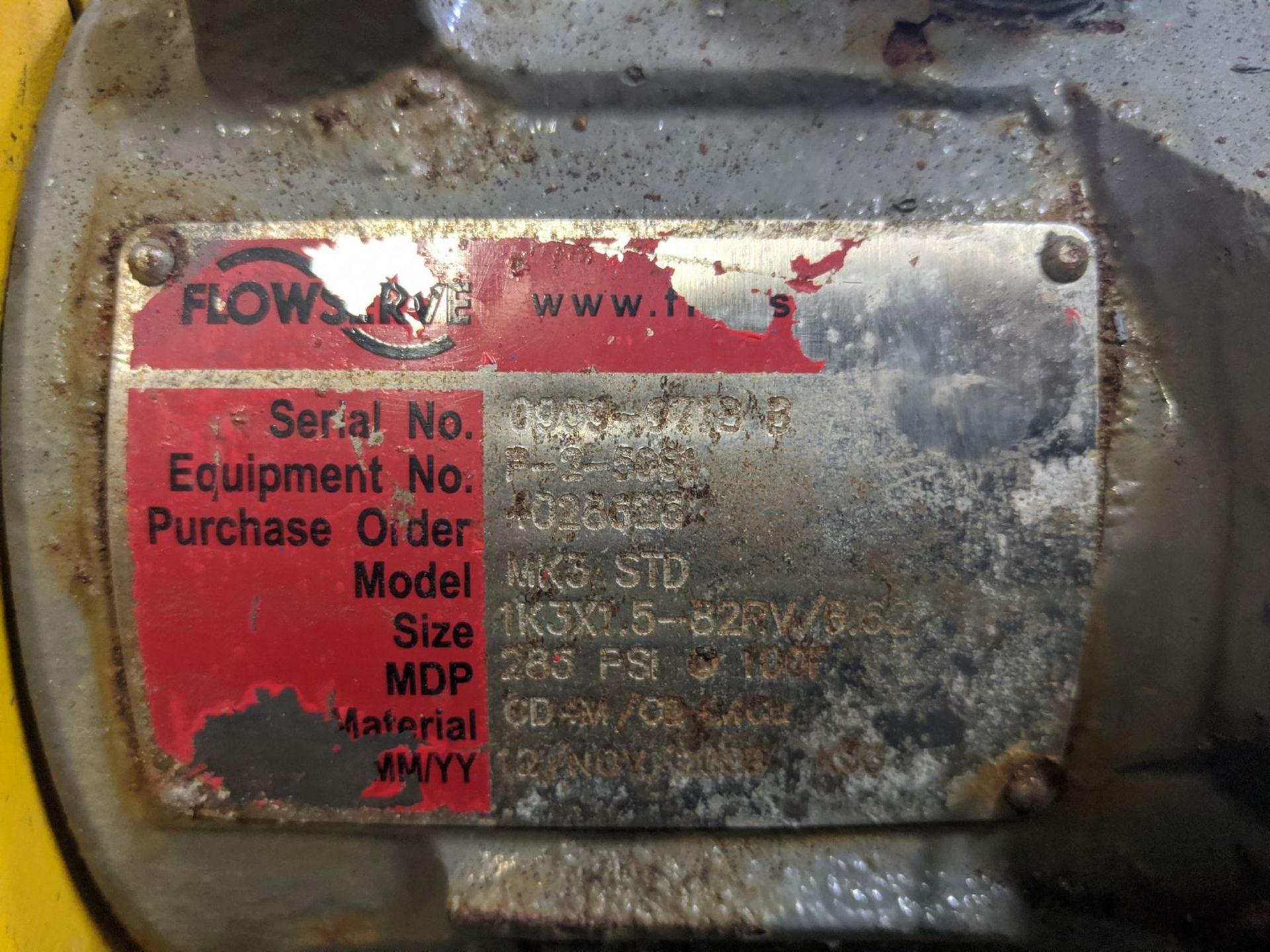 Flowserve Model MK3STD 15 HP Centrifugal Pump - Image 2 of 3