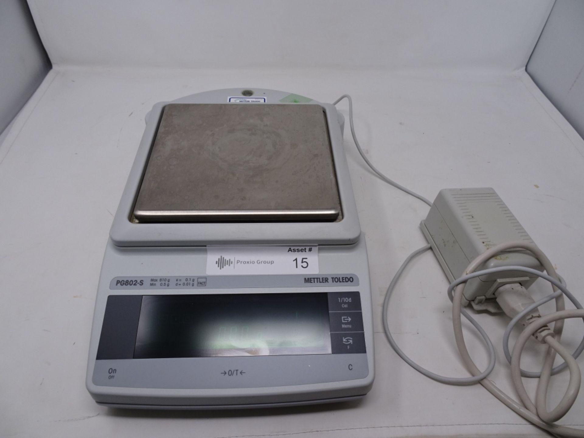 Mettler Toledo Model PG802-S 810g Capacity Balance s/n 1200200241018