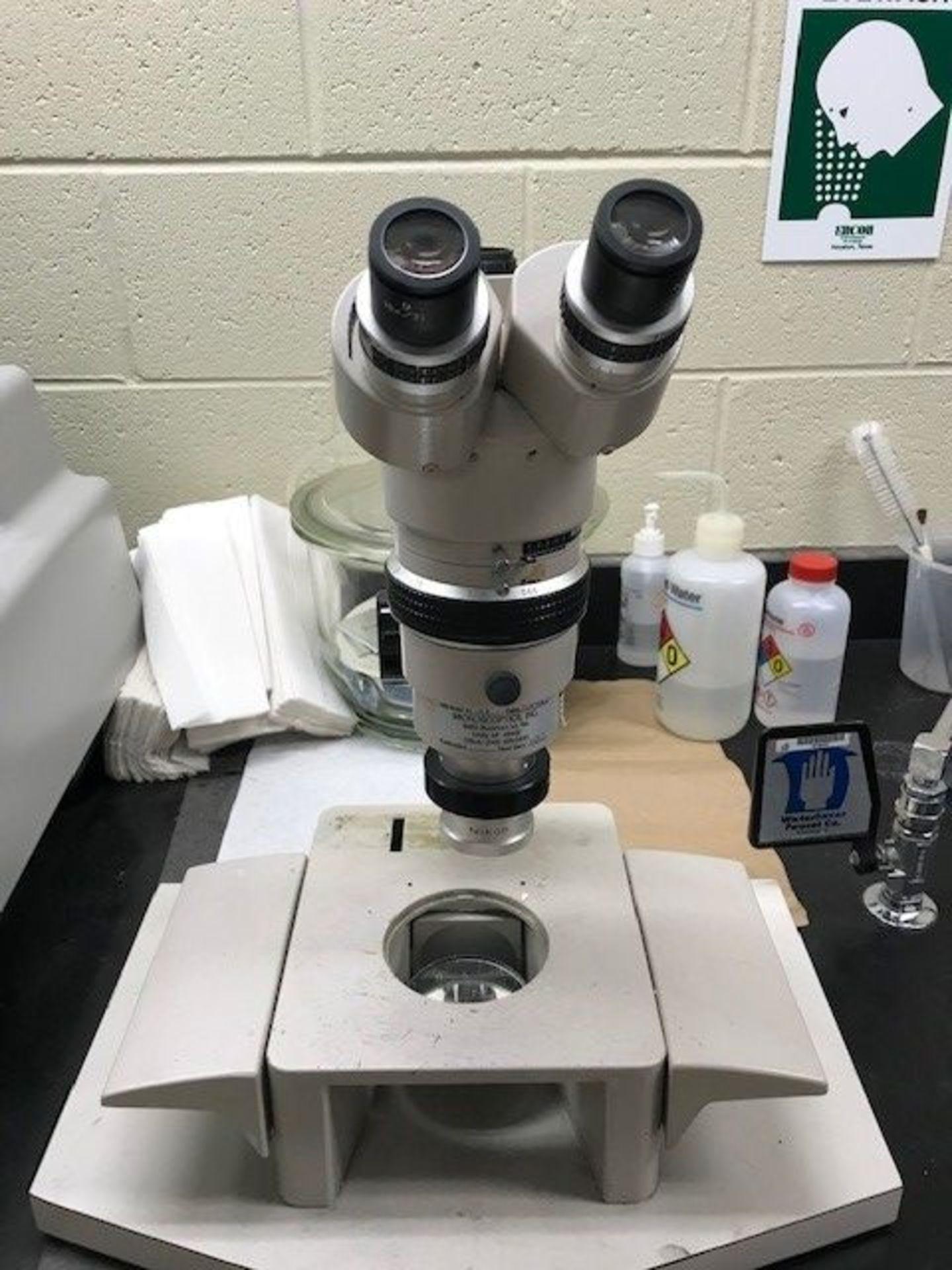 Nikon Optiphot Reflection Microscope SMZ-10 - Image 2 of 3
