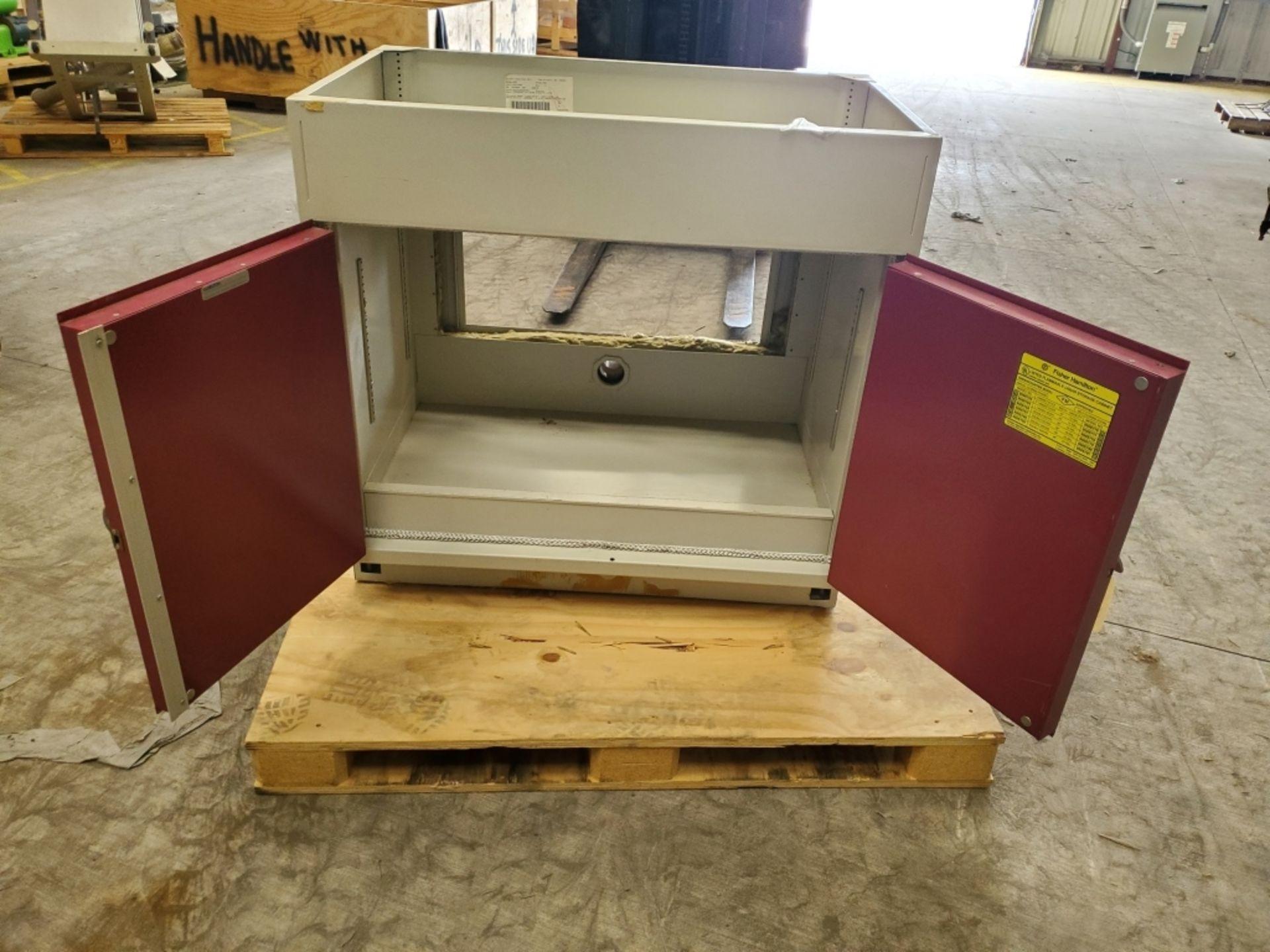 Fisher Hamilton 18Gal 2-Door Flammable Cabinet - Image 3 of 5