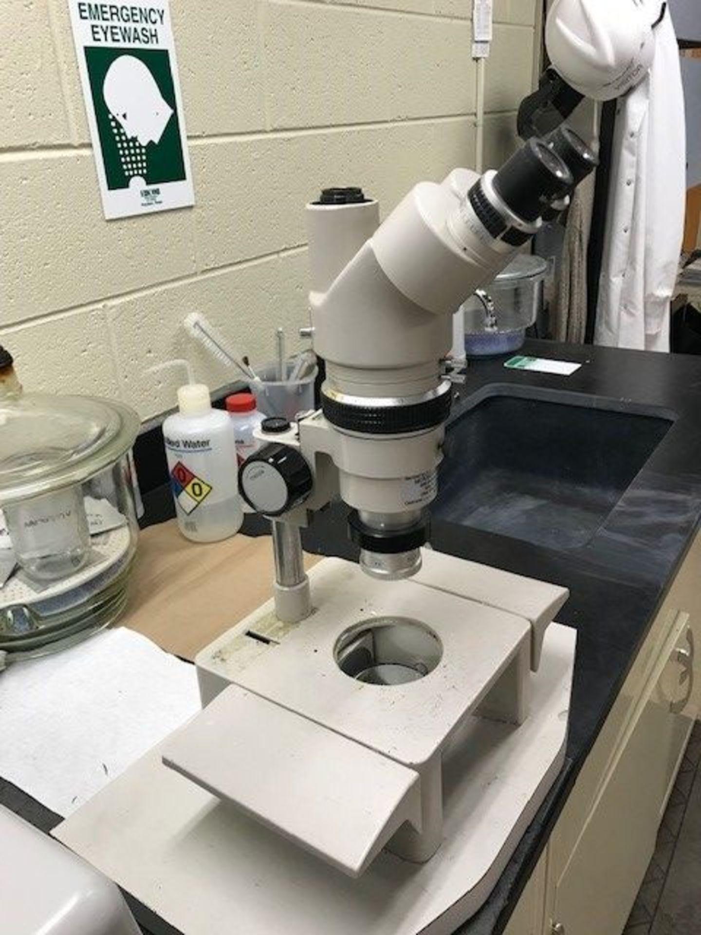Nikon Optiphot Reflection Microscope SMZ-10
