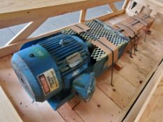 15HP Inline Mixer w/ Frame and Mixer Head