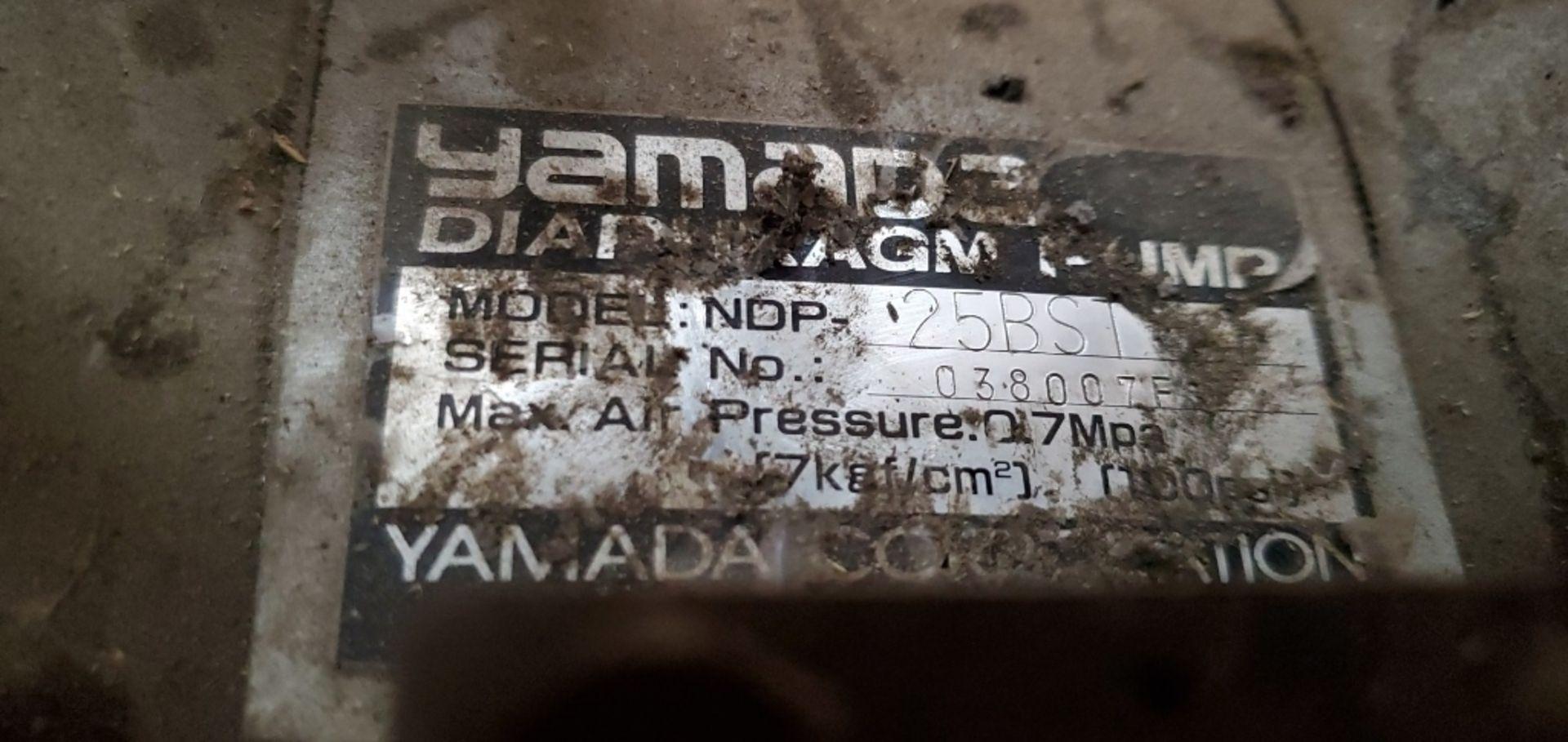 Yamada Model NDP25BS 6 Diaphragm Pump - Image 4 of 4