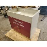Fisher Hamilton 18Gal 2-Door Flammable Cabinet