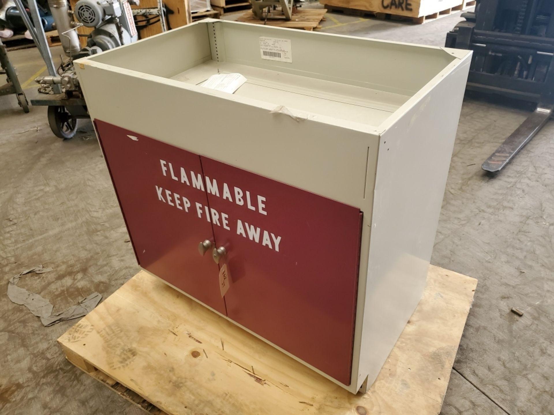 Fisher Hamilton 18Gal 2-Door Flammable Cabinet