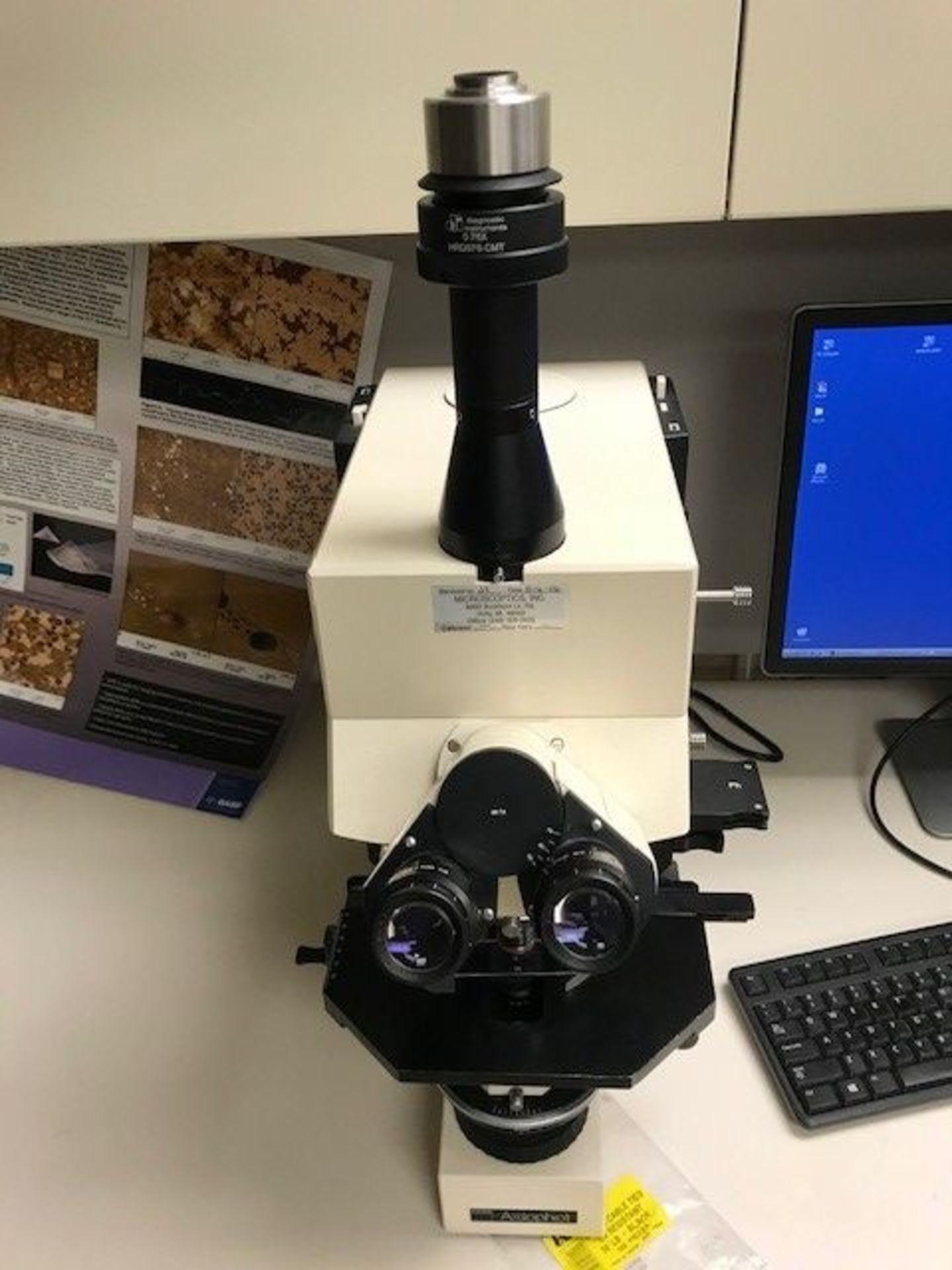Nikon Optiphot Transmission Microscope - Image 2 of 2