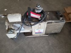 Welch #5 Vacuum Pump With .5HP Electric Motor