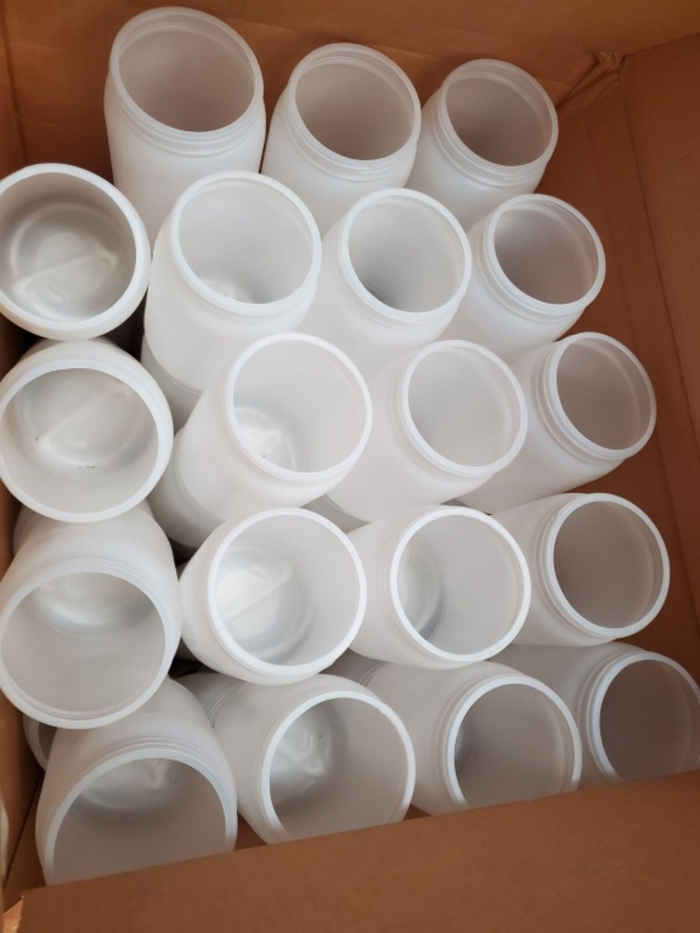 Skid Lot of Various Sized Plastic Bottles