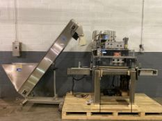 Kaps-All Model A-2 Caper sn 2244, Complete w/ Feed Systems Inc Model FSRF 22 Laboratory Feeder