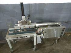 Belcor Industries Model 130 Case Taper sn 8153 w/ (1) Belcor Industries Model 505 Case Former sn