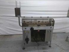 DT Industries Kalish Model 6580 Automatic Inverted Bottle Washer, Mfd 9/1997, sn 0005, 110V, 1ph,