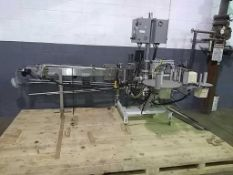"""Roser Products Incorporated Inline Labeler With 10' x 4"""" Conveyor (Being Sold Without Belt), (1)"""
