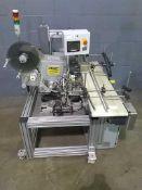 """Code-In-Motion Model LS-1022-9191-TG-V Inline Serialization Printer With Dorner 12 x 48"""" Conveyor,"""