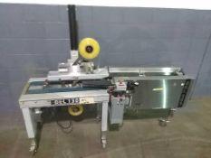 Belcor Industries Model 130 Case Taper sn 8149 w/ (1) Belcor Industries Model 505 Case Former sn