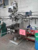 MSC 2HP Variable Speed Vertical Milling Machine