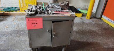 2-Door Tool Box w/ Contents