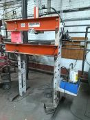 SPX Power Team 25 ton Hydraulic H-Press