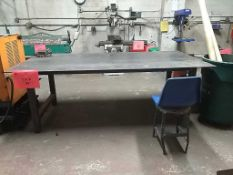 (1) 8'x4' Heavy Duty Welding Workbench