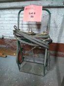 2-Bottle Welding Torch Cart