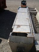 "Link Belt Screw Conveyor, Stainless Steel Approximately 10"" diameter x 132'' long. 3'' Thru 9''"