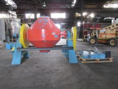 Paul O. Abbe Rota-Cone Vacuum Dryer. Approximate 20 cubic feet working capacity, stainless steel on