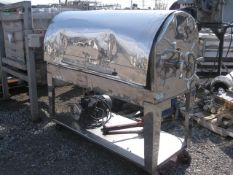 """Plate And Frame Filter Press, (23) 15"""" x 15"""", Stainless Steel. Approximate 71.875 square feet"""