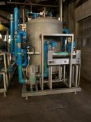 """Biolab Reverse Osmosis System, Stainless Steel Construction. (4) Approximately 8"""" diameter x 120"""""""