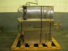 Zanchetta (IMA) Bin Blender, Model CANGURO TUMBLER, Model 500 FS, Series 2000, stainless steel. Bin