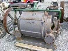 Nash Vacuum Pump, Model CL2002. Driven by a 100 hp, 3/60/230/460 volt, 1775 rpm motor. Test # .