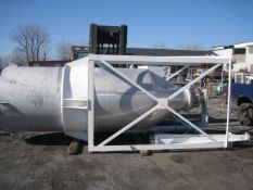 Dynamic Air Blender System. Consisting of: Operator control panel, compressed air tank, and a silo,