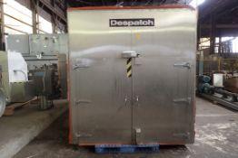 Despatch Pass Thru Cart Oven, Model GWB*78X150X50, Stainless Steel Construction.