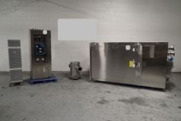 Gruenberg Oven, Model T18HS74.35SS, Stainless Steel Construction. Approximately 74 cubic feet