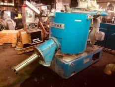 Prodex Henschel High Intensity Mixer, Model 115JSS, 500 Liter. Has interior jacketed bowl.