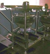 Transtore Tote Bin, Model 514754, Stainless Steel.
