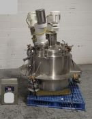 Lee Industries Triple Agitated Kettle, 50 Gallon. Model 50 U7S, 316L Stainless Steel. Approximate